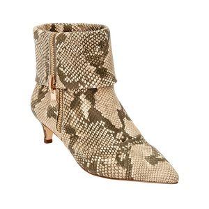 New comfortview snake bootie 10w kitten heel